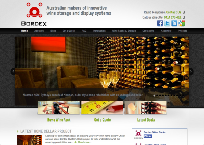 Bordex Wine Racks