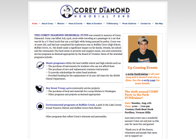 Corey Diamond Memorial Fund