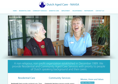 Dutch Aged Care – NAASA